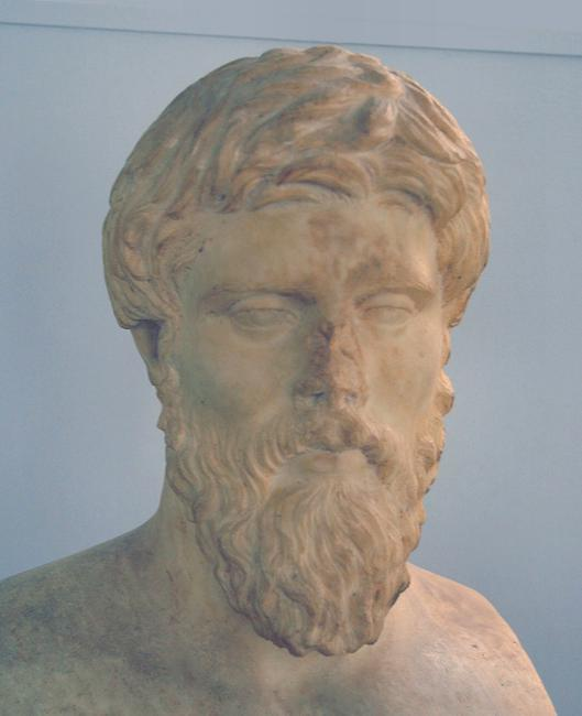Plutarch of Chaeronea (AD 46–120), author of the Lives of Noble Greeks and Romans, together with comparisons of some pairs. One of the most accessible authors of all classical antiquity.